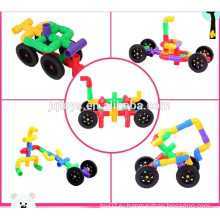 2015 новинка Развивающая интеллектуальная обучающая игрушка Трубопроводные строительные блоки для детей