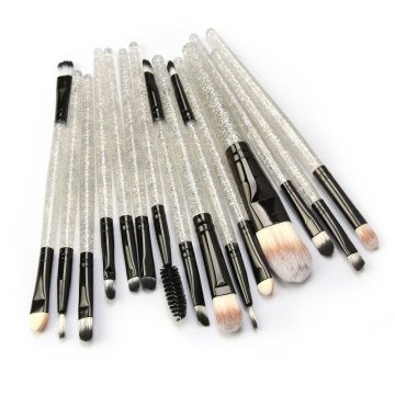 15 Stück Crystal Travel Makeup Pinsel Set