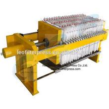 Leo Filterpresse Kleine manuelle hydraulische Testfilterpresse, kleine Filterpresse von Leo Filterpresse