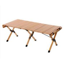 Mesa de jardín Mesa de camping de madera
