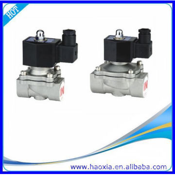 Normally Closed Stainless Steel Fluid Solenoid Valve 2S200-20