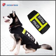Gros harnais réfléchissant de chien de bande élastique réfléchissante de conception faite sur commande en gros pour des vêtements d'animal familier