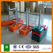 PVC-beschichteter temporärer Zaun (Direktmanufaktur)
