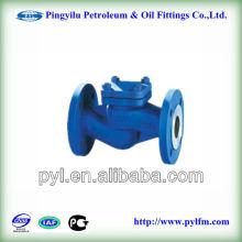 Válvula de retenção flangeada para fabricação de água