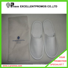 2015 Promotion High Quality OEM Logo Plush Disposable Slipper (EP-S82949)