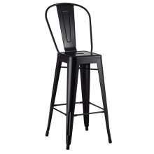 Restaurant Metal Tolix Arm Bar Chair High Back