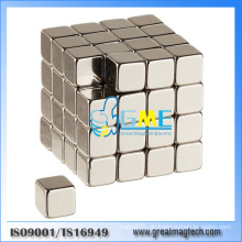 """N52 Starker 1/4 """"Neodym Seltener Erdenwürfel Magnet Block"""