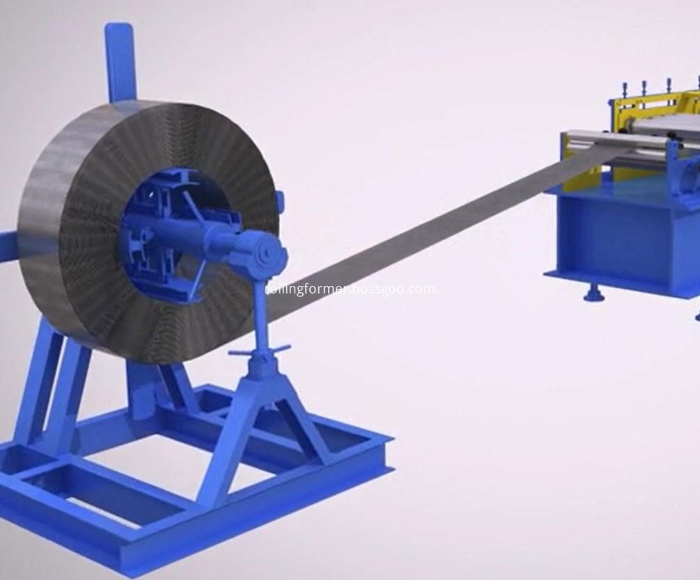 Plain Strut rollforming machine