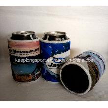 Refrigerador de lata de neopreno personalizado Insulasted con fondo pegado