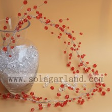 Acrylic Bead Red Berry Tree Branch for Centerpieces