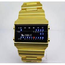 Usine en gros montre numérique nouveau style montre électronique pour les hommes (HL-CD016)