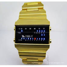 Factory Wholesale Digital Watch New Style Electronic Watch for Men (HL-CD016)