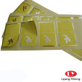 Etiqueta adhesiva autoadhesiva de impresión personalizada