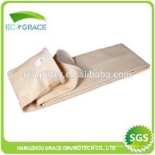 Bolsa de filtración de la colección del polvo de la planta del cemento, filtro de PPS