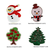 Christmas Festival Iron-on Embroidered Patch
