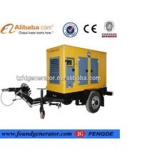 Générateur diesel de remorque chaude de vente, générateur diesel à vendre