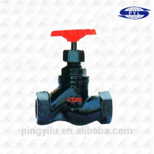 Válvula de ferro fundido dúctil válvulas roscadas fornecedores válvula globo preço