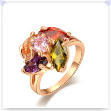 Crystal jóias acessórios de moda anel de liga (AL0045G)