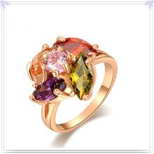 Кристалл ювелирных изделий Мода аксессуары сплава кольцо (AL0045G)