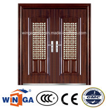 Fenster Große Größe Außen Wasserdichte Sicherheit Metall Stahl Tür (W-SD-04)