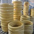 heiße Verkäufe Handelsversicherung flexibler hydraulischer Gummischlauch Zopf zu Luft / Wasser