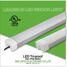 cUL listado luminárias de luz à prova de tri led lâmpada linear de qualidade superior