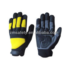 Man Made Artificial Leather Mechanics Gloves HYM03
