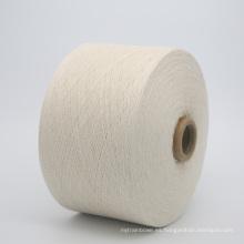 hilo de algodón regenerado teñido reciclado teñido de alta calidad Ne 6s para los guantes kntting