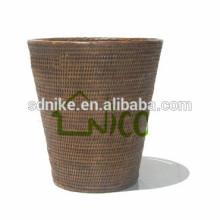 2014 hot sale outdoor rattan flower floor vase