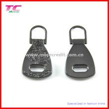 Shiny Gun Metal Metal Metal Zipper Puller pour bagage