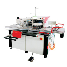 QS-120MT single needle automatic pocket setter iron-free jeans pocket attaching industrial sewing machine