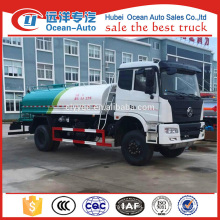 Dongfeng 4x4 water tanker trucks for sale