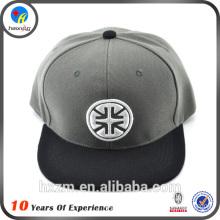 flat brim acrylic snapback cap bulk