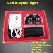 Multifunktions-Hochleistungs-1800Lumens 2XCREE XML T6 LED-Silikon-Fahrradlichter
