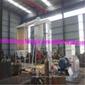 Martillo molino polvo de madera aserrín de la cadena de producción máquina de pulir