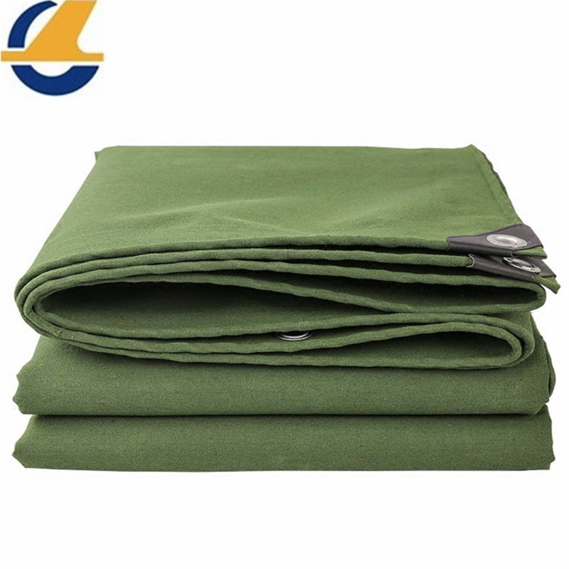 polyester canvas tarps olive