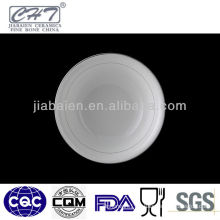 Hot sell design chinese white ceramic soup bowls
