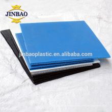 JINBAO corrugated plastic sheets 4x8 pp polypropylene sheet wholesale