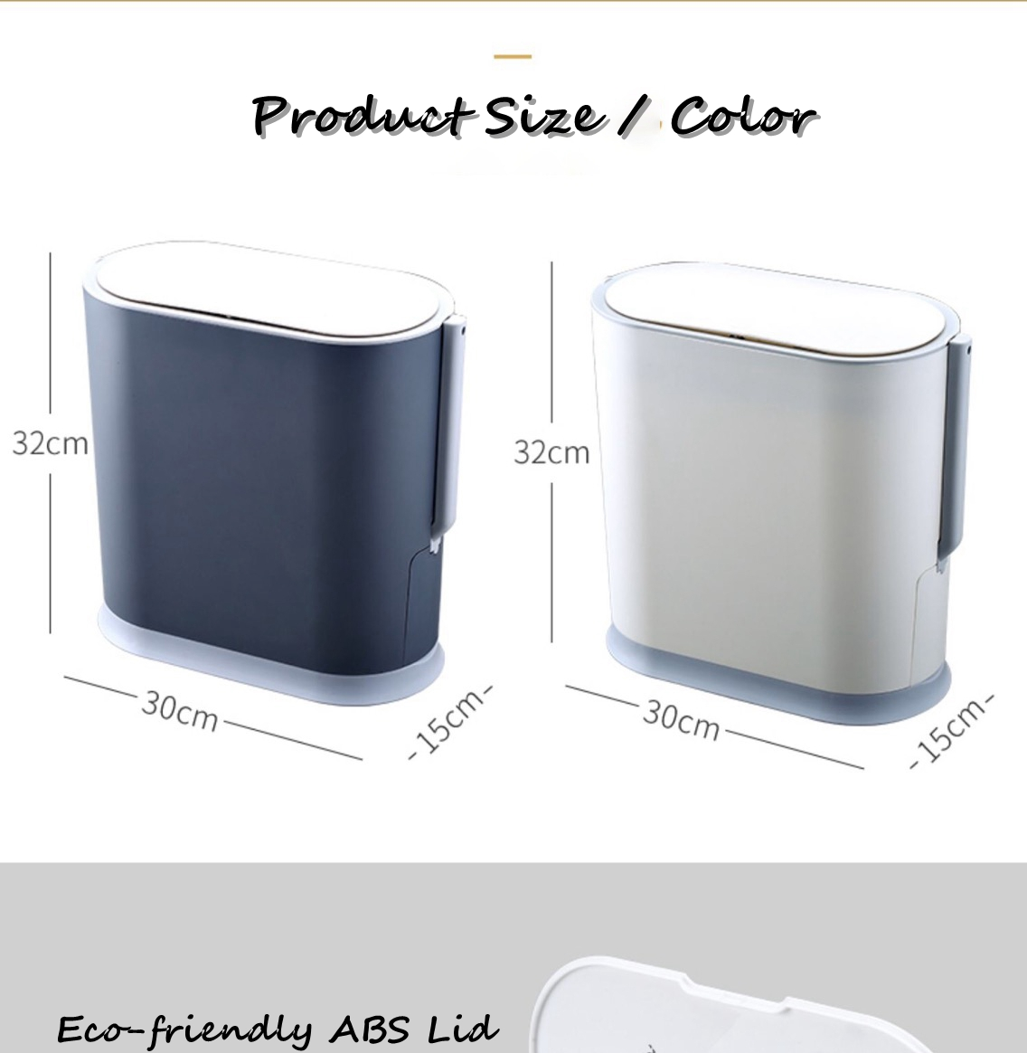 Toilet Waste Bin for Home