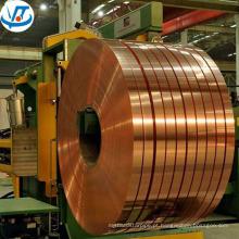 C1100 C1200 C1220 folha de bobina de cobre de fita de cobre vermelho 0.5 mm / bobinas de tira de cobre