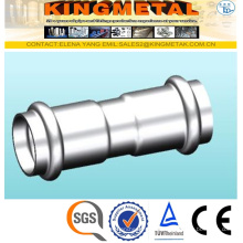 F304/316 Stainless Steel Press Fittings Equal Coupling