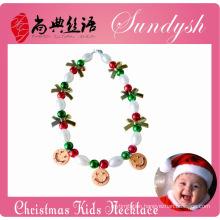 Latest Bubble Chunky Jewelry Christmas Kids Necklace