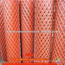 Orange pvc beschichtete geschweißte Stahlnetze im Laden