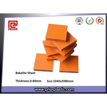 Folha de Baquelite Resistente a Temperatura do Material de Isolamento