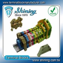 TF-G16 Erdung Typ gleich Wago Gelb Grün Drahtverbinder