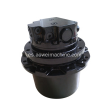 PC15 Motor de viaje PC15r-8 Mini excavadora accionamiento final