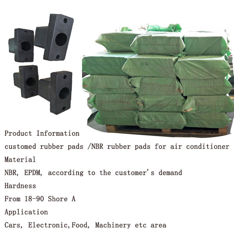 Custom fire flame resistant neoprene rubber part
