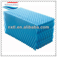 PVC film fill media for counter flow cooling towers