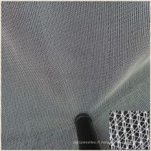 Tissu de maille de Tulle Micro Uni pour la broderie de robe