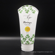 Hot sale white body lotion cream packing tube design